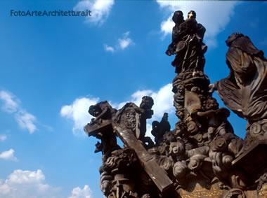 ponte carlo - gruppi scultorei