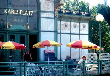 padiglione metropolitana Otto Wagner