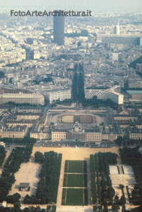 Panorama dalla Tour Eiffel