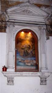 Santa Lucia - edicola votiva (Siracusa)