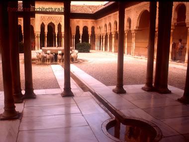 alhambra - patio dei leoni