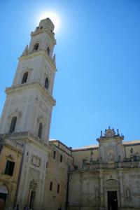 campanile ideato da G. Zimbalo