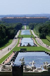 Parco Reggia di Caserta - veduta