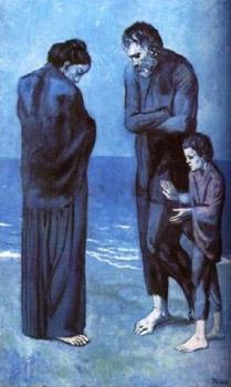 Poveri in riva al mare - Picasso