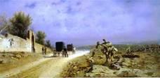 Strada di campagna (Un giorno di caldo in Sicilia!), 1877, olio su tela, Napoli, Museo di Capodimonte