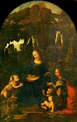 Leonardo da Vinci: la Vergine delle rocce
