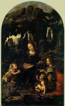 Vergine delle roccie - Louvre