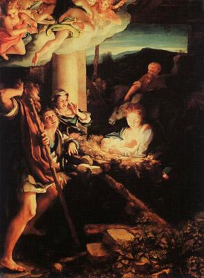 La Notte - Correggio del 1525-30