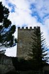 torre del castello di Lombardia