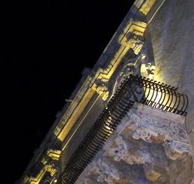un balconcino