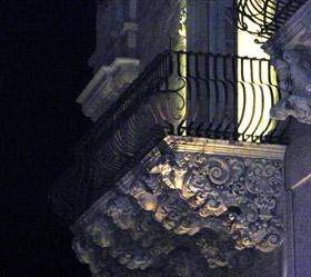Balconcino - mensole barocche