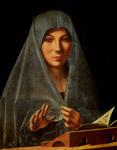"""l'""""Annunziata"""" di Antonello da Messina"""
