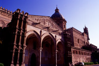 Cattedrale di Palermo: il portico gotico-catalano