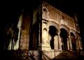 Veduta notturna di Santa Maria della Catena