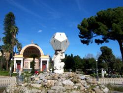 Fontana con Atlante e Dodecaedro
