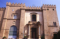 Chiesa delle Giummare: il fronte principale