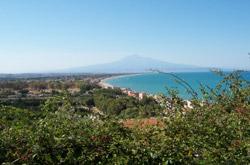 veduta dell'Etna