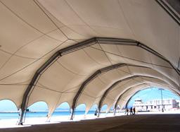 porto di Trapani - Tensostruttura