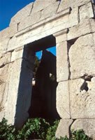 Tempio di Diana - sec. IX a.C.