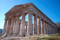 Tempio dorico sec. V a.C. - Segesta